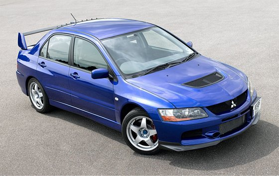 Mitsubishi Evolution Mr. Since Mitsubishi did not make