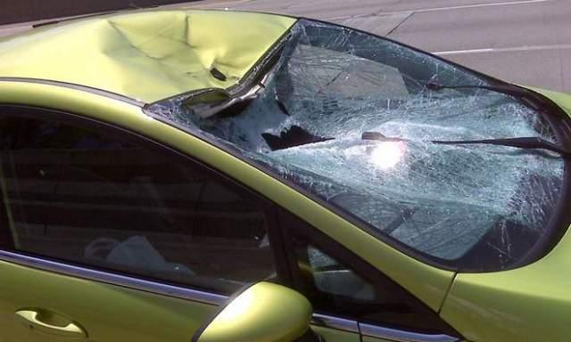 crashed Fiesta 1