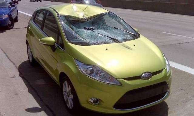 crashed Fiesta 3