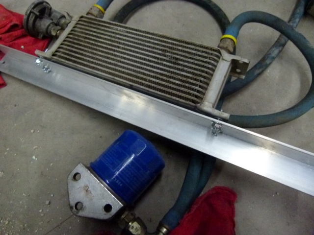 Oil cooler and filter kit