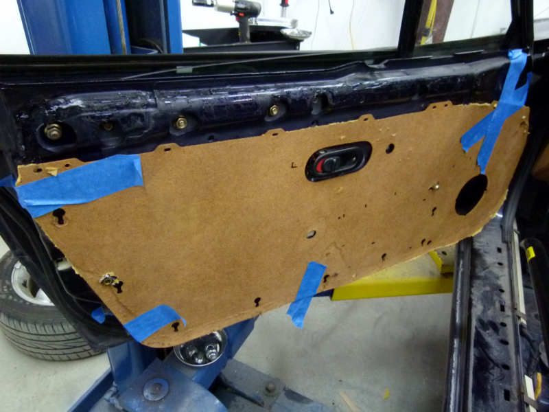 Building A Track Car Miata Door Panels Fabricated Jim