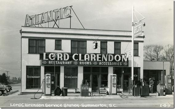 gas station SC 1960