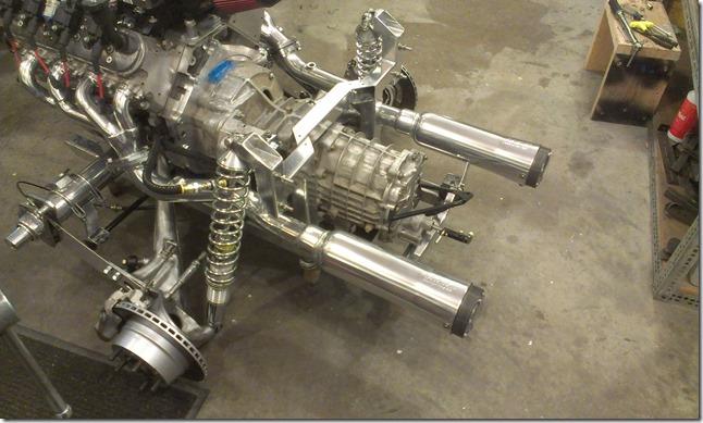 engine and tranny