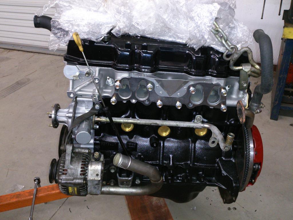 The Bouncing Speedo Jims Garage Toyota Pickup Exhaust Diagram Further 1994 22re Fuel Dsc 0022